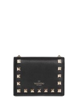 """Кожаный Кошелек """"rockstud"""" Valentino 71IW94056-ME5P0"""