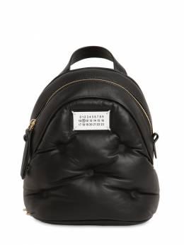 Glam Slam Leather Mini Backpack Maison Margiela 71IM6A011-VDgwMTM1