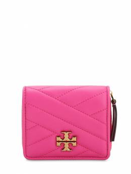 Kira Quilted Leather Compact Wallet Tory Burch 71IL4W030-Njc40