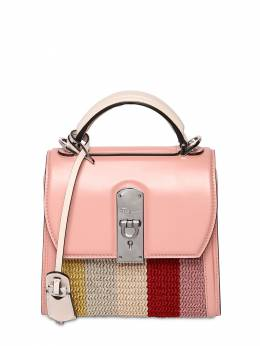 Boxyz Leather & Raffia Top Handle Bag Salvatore Ferragamo 71IG7Y014-NzI0NTkw0