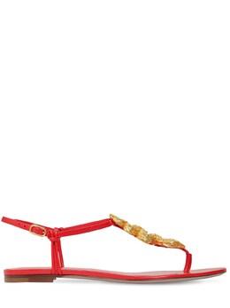 10mm Maison Leather Sandals Valentino 71IAG2028-SlU10