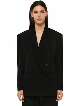 Aspara Double Breasted Wool Blend Blazer Isabel Marant 71I1JT009-MDFCSw2