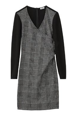 Комбинированное платье с имитацией запаха Liu Jo 1776168464