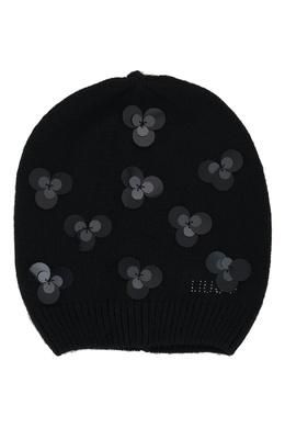 Черная шапка с декором Liu Jo 1776168193