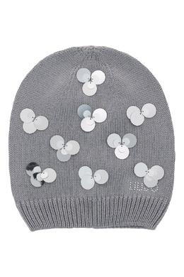 Серая шапка с пайетками Liu Jo 1776168188