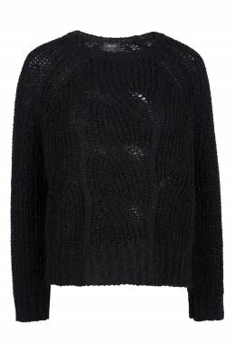 Черный свитер с рукавами-регланами Liu Jo 1776168327