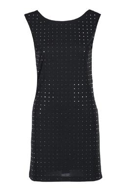 Платье мини с квадратными стразами Liu Jo 1776168321