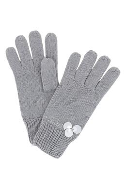 Серые перчатки с пайетками Liu Jo 1776168219