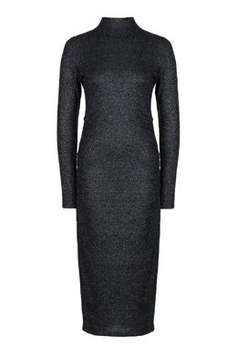Облегающее серое платье миди Liu Jo 1776168364