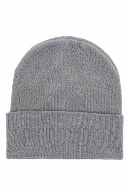 Светло-серая шапка со стразами Liu Jo 1776168128