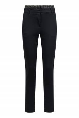 Зауженные брюки со вставкой на поясе Liu Jo 1776168410