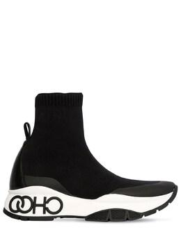40mm Raine Knit Sock Sneaker Jimmy Choo 71ID0Z021-QkxBQ0s1