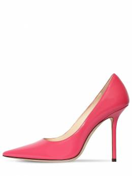 100mm Love Brushed Leather Pumps Jimmy Choo 71ID0Z015-QlVCQkxF0