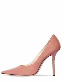 100mm Love Brushed Leather Pumps Jimmy Choo 71ID0Z015-QkxVU0g1