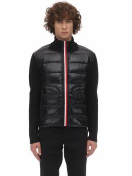 Tricot Knit Down Jacket Moncler 70I3EU087-OTk50