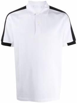 Prada рубашка-поло с логотипом UJN612S2011VNY