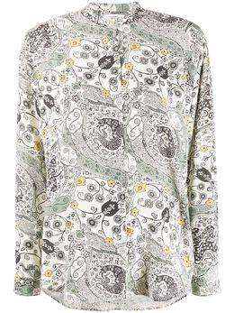 Isabel Marant Etoile блузка Catchell с длинными рукавами CH062820P024E