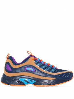 Reebok blue Daytona DMX II low top sneakers EG1656
