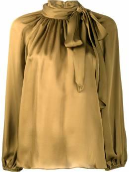 Zimmermann блузка с бантом и длинными рукавами 7645TRSUP