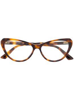 MCQ by Alexander McQueen очки в оправе черепаховой расцветки MQ0237O