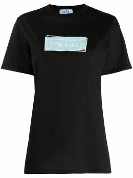 Prada футболка с логотипом 35838S1611V0E