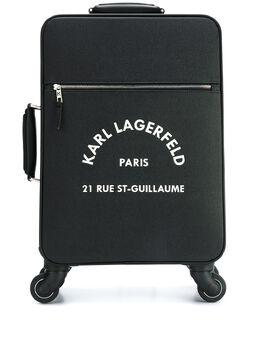 Karl Lagerfeld чемодан с логотипом 201W3073999