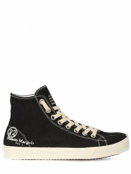 20mm Vandal Cotton Canvas Sneakers Maison Margiela 71IM85011-VDgwMTM1