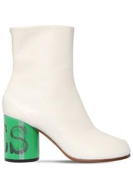 80mm Tabi Leather Boots Maison Margiela 71IM85009-SDc5OTA1