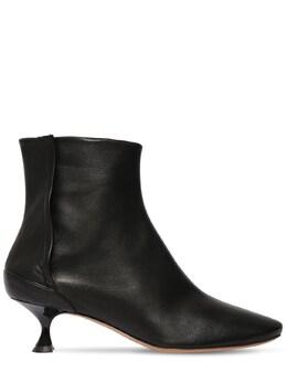 50mm Leather Ankle Boots Maison Margiela 71IM85003-VDgwMTM1