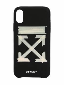 Tape Arrows Print Iphone X/xs Cover Off-White 71IJSX024-MTA0OA2
