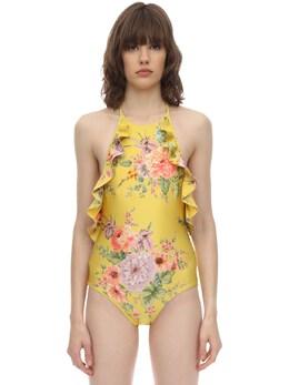 Zinna Ruffled Lycra Swimsuit Zimmermann 71ICDR002-R09MREVOIEZMT1JBTA2