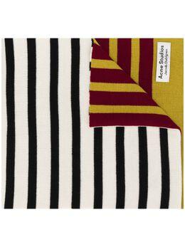 Acne Studios полосатый шарф из коллаборации с Jacob Dahlgren CA0077