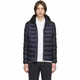 Moncler Navy Down Emas Jacket 201111M17800902GB
