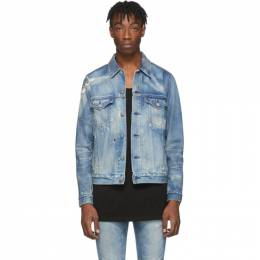 John Elliott Blue Denim Thumper Type III Jacket 201761M17705204GB