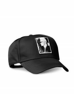 Черная Кепка Karl Legend Karl Lagerfeld 200W3404 A999 Black