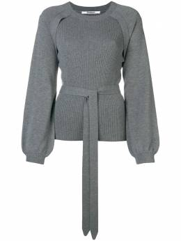 Chalayan puff sleeve ribbed sweater WN903FN903CH