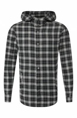 Хлопковая рубашка Kiton UMCMARH0707740