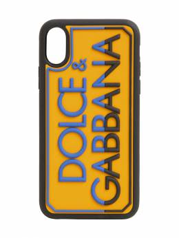 Чехол Для Iphone X/xs С Логотипом Dolce & Gabbana 71IAOQ032-OEcyMzg1