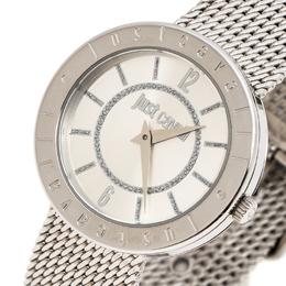 Just Cavalli Silver Stainless Steel 7253532503 Women's Wristwatch 34 mm 249221