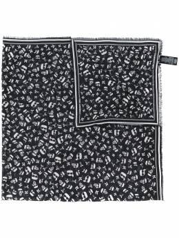 Karl Lagerfeld Ikonik satin scarf 201W3303999