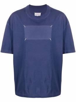 Maison Margiela футболка с декоративной строчкой S50GC0610S20079