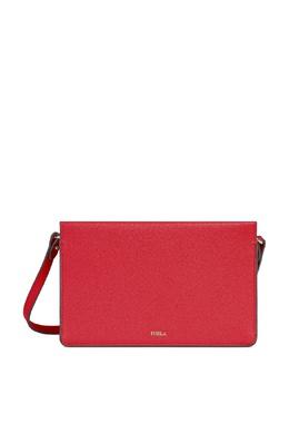 Красная кожаная сумка Babylon Furla 1962169688