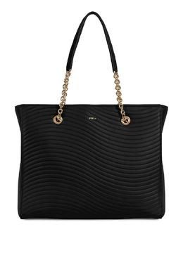 Черная сумка Swing Furla 1962169640