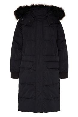 Длинный пуховик с карманами Calvin Klein 596169075