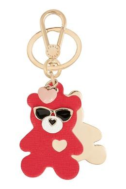 Золотистый брелок Venus с красным медведем Furla 1962169655