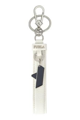 Белый брелок с подвеской Ulisse Furla 1962169983
