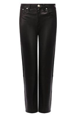 Кожаные брюки Rag&Bone WAW19F7027LG27