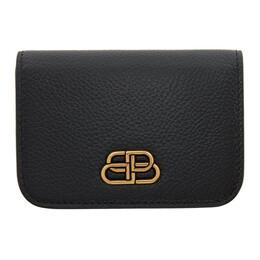 Balenciaga Black Mini BB Wallet 601387-1IZ7M