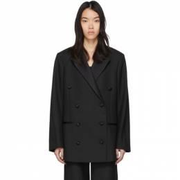 Toteme Black Loreo Tuxedo Blazer 201-119-704