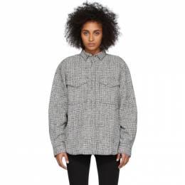 Toteme Black and White Novella Shirt 201-711-702